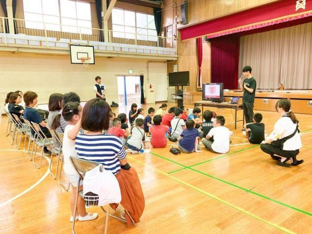 千葉県市川市立中国分小学校にて出張授業を行いました。